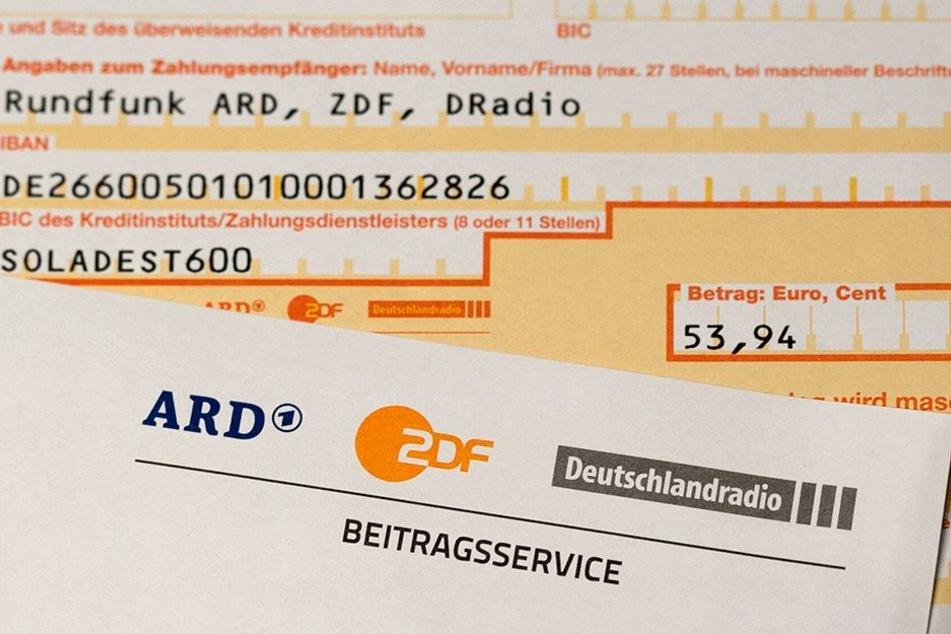 Solch ein Gebührenbescheid wurde 2016 in Sachsen 511.027 Male verschickt,  deutlich weniger als in den Vorjahren.