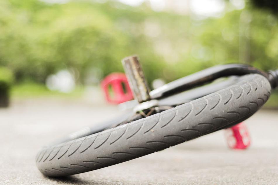 Der Radfahrer hatte offenbar kurz vor seinem Tod einen Unfall.
