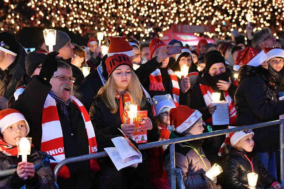 Union Berlin veranstaltete 15. Weihnachtssingen