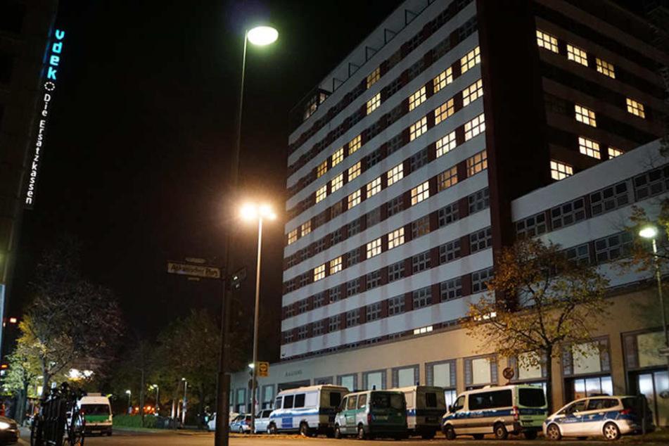 Das Gebäude wurde von oben bis unten durchsucht, allerdings erfolglos.