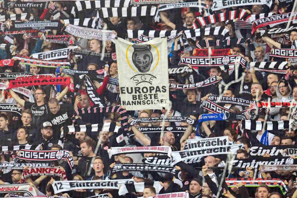 Die Eintracht-Fans müssen sich in London an bestimmte Regeln halten.