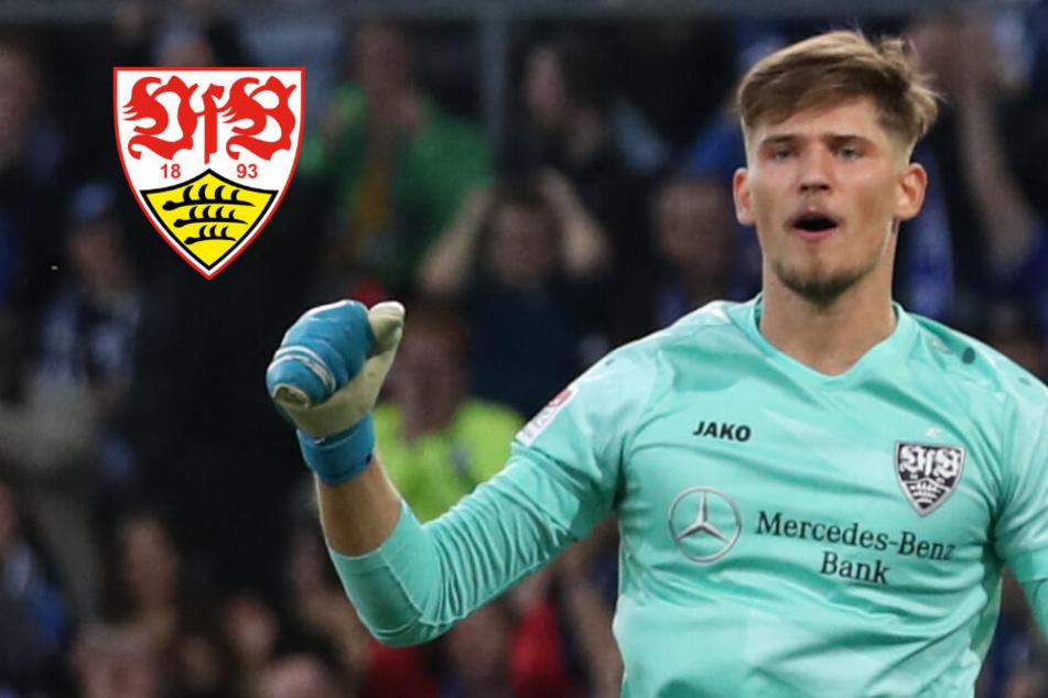 Welchen Torwart setzt VfB-Coach Walter gegen Darmstadt auf die Bank?