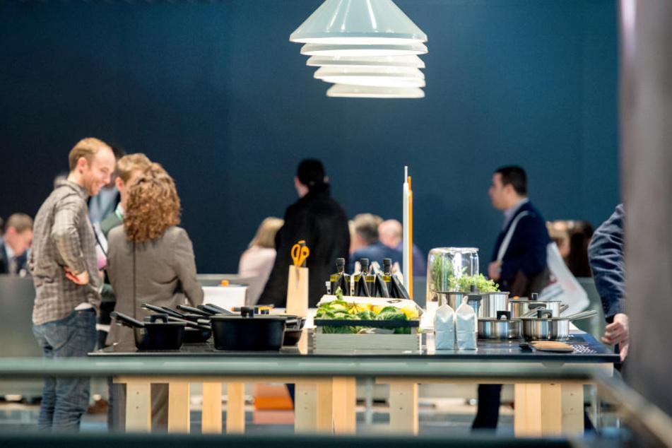 Auf der Messe Ambiente gibt's alles rund um Wohnen, Schenken und gedeckter Tisch.