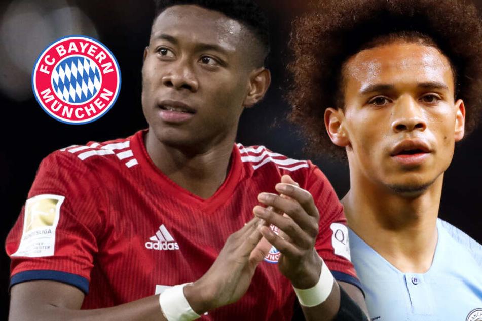 Bayern-Star David Alaba im Tausch für Leroy Sané? Wechsel-Posse immer verrückter