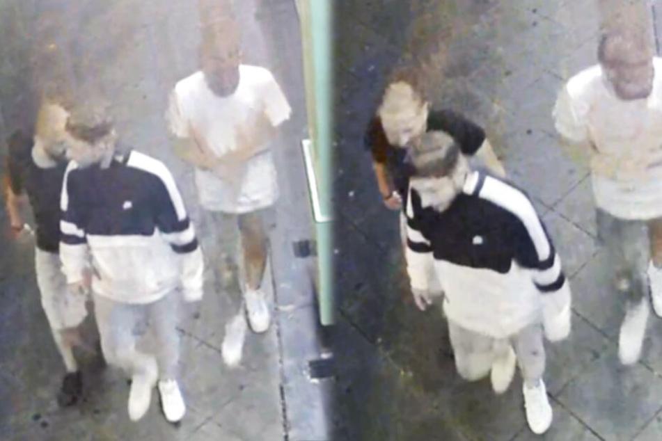 Fahndung nach blutiger Messerattacke: Wer kennt diese Männer?