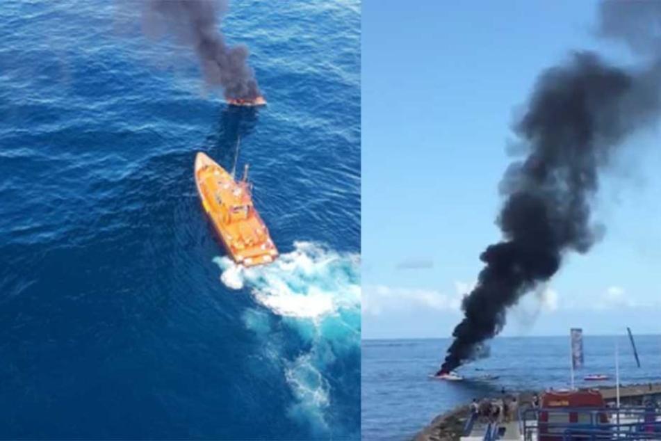 Touristen-Boot vor Teneriffa explodiert