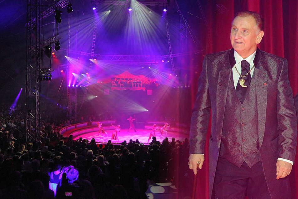 Manege frei im neuen Millionenzelt: Mittwoch große Weihnachts-Circus-Premiere