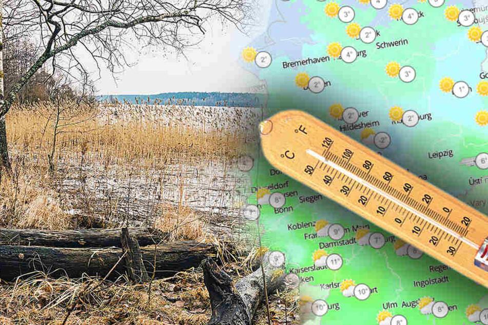 Die kommende Woche spaltet Deutschland temperaturtechnisch.