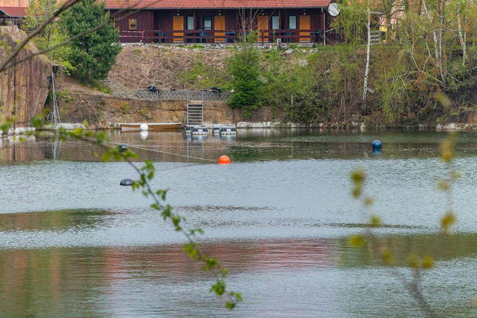 In diesem Gewässer bei Kamenz verunglückte der 58-Jährige.