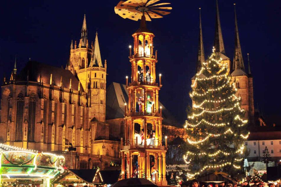 Weihnachtsmarkt Erfurt.Das Ist Der Gemütlichste Weihnachtsmarkt In Thüringen Tag24