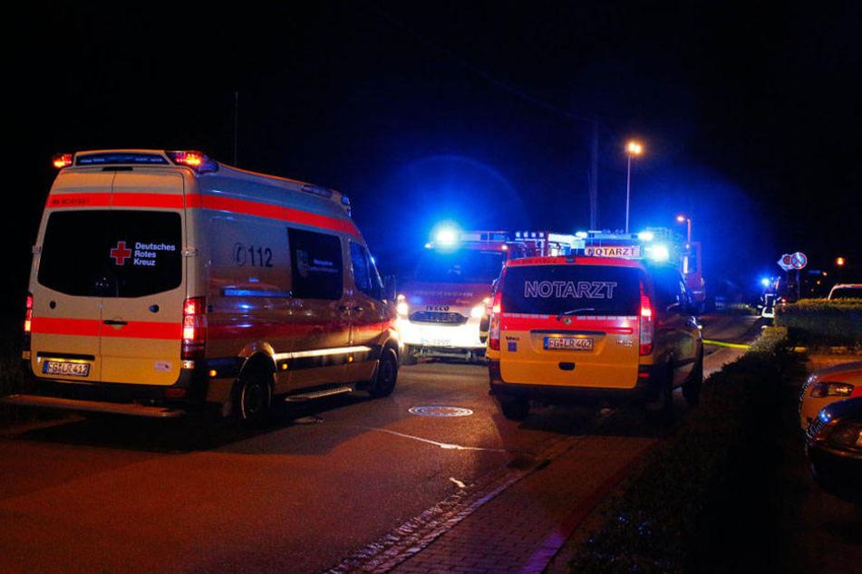 50 Bewohner wurden vorsichtshalber evakuiert.
