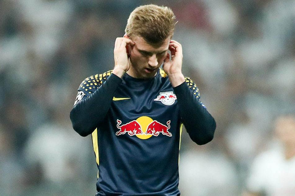 Wird Timo Werner (21) wieder fit sein gegen Borussia Dortmund?