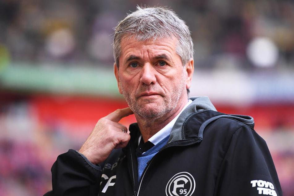 Friedhelm Funkel nennt den VfB Stuttgart als warnendes Beispiel.