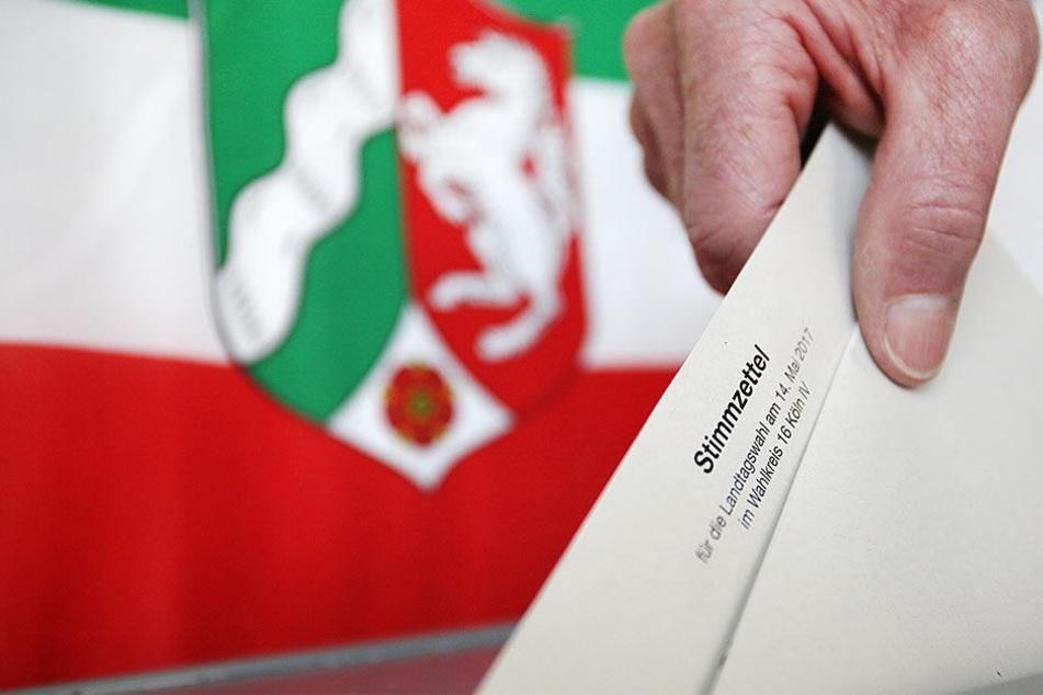 Am Sonntag dürfen 13,1 Millionen Menschen aus NRW die neue Landesregierung wählen. (Symbolbild)