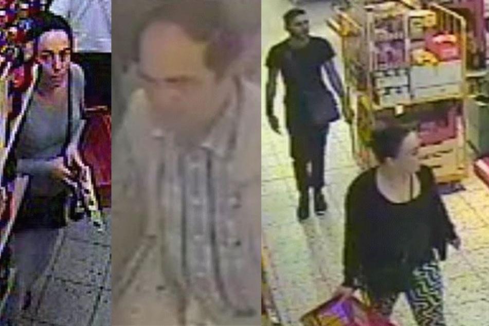 Diese vier Personen werden von der Polizei gesucht, weil sie mehrere Einbrüche verübt haben sollen.