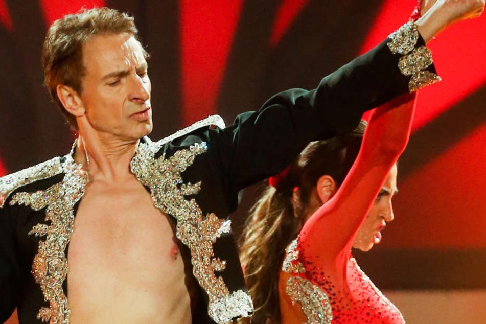 Ingolf Lück mit Tanzpartnerin Ekaterina Leonova.