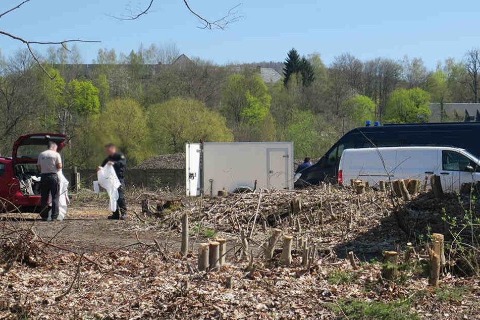 In Aue wurde am Mittwoch eine männliche Leiche gefunden.