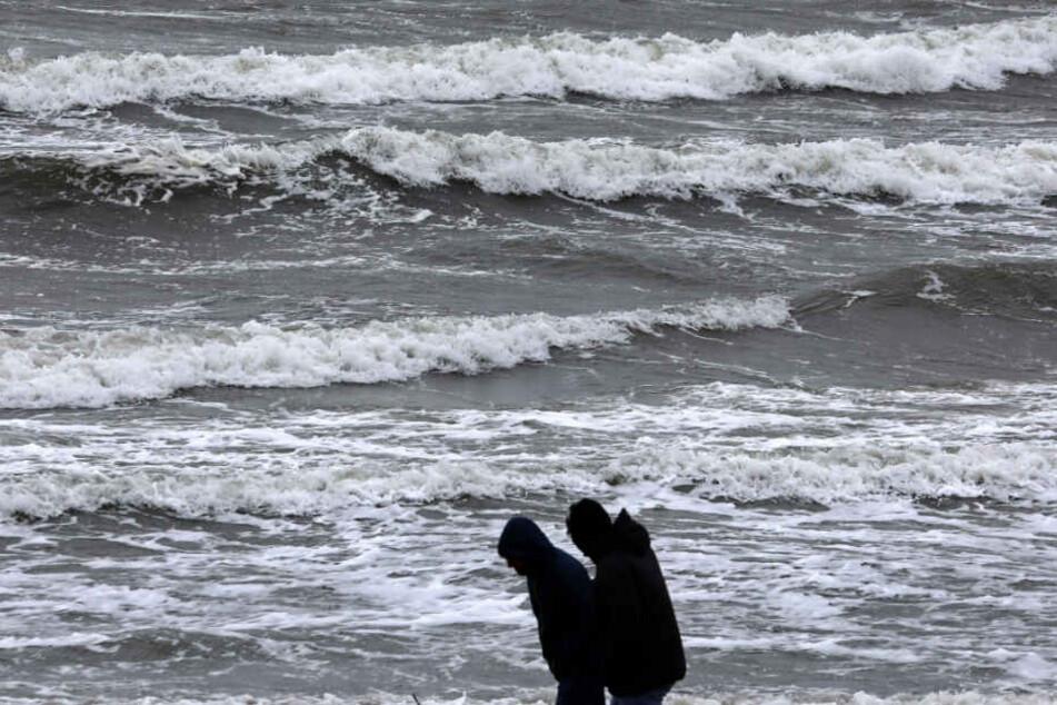 An der Nordsee wird es ungemütlich.