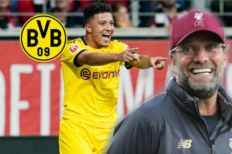 BVB-Hammer: Jürgen Klopp will Jadon Sancho zum FC Liverpool holen!