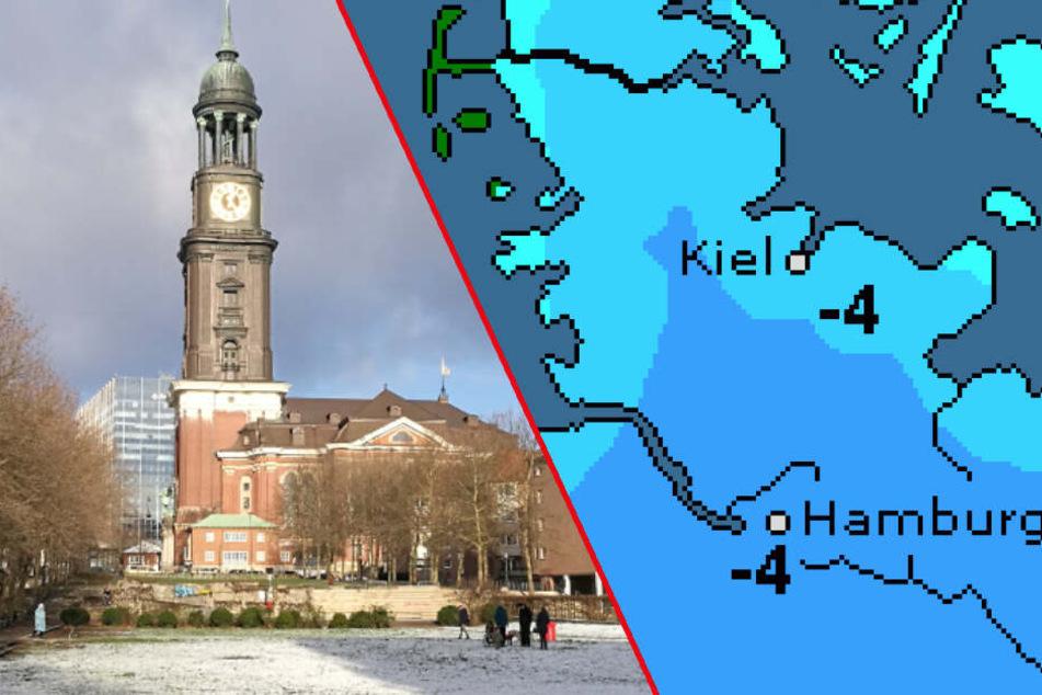 Kältewelle mit Schnee? So wird das Wetter in Hamburg nächste Woche