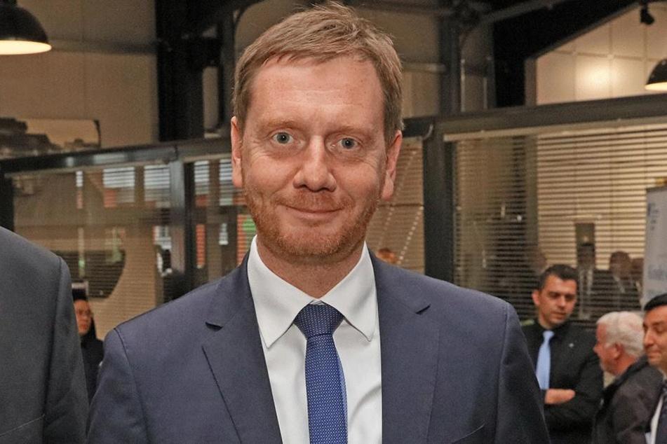 Ministerpräsident Michael Kretschmer (43, CDU).