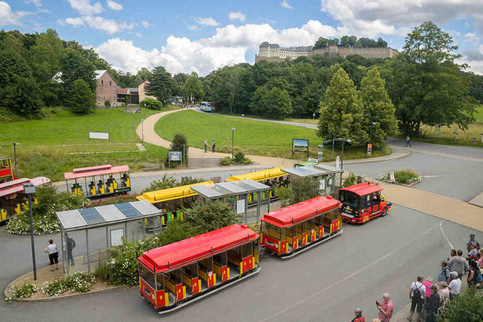Die Festungsbahn soll hinter der Königsteiner Kirche starten und ...