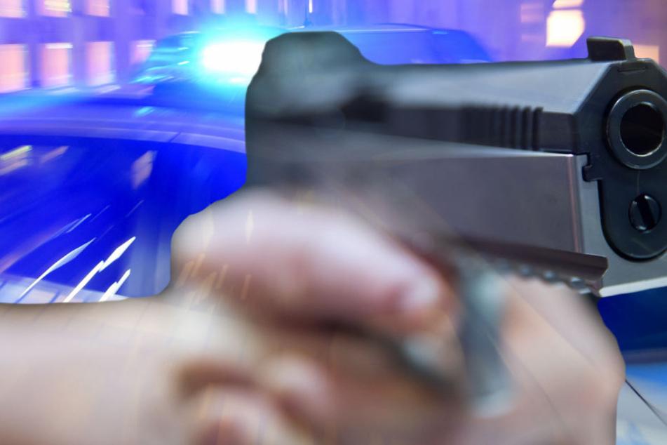 Die Polizei in Mainz fragt: Wer hat den jungen Mann mit der Pistole in der Hand gesehen?
