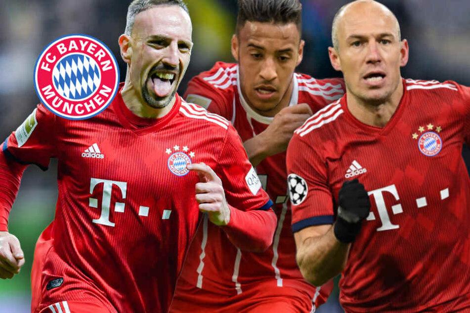 Ribéry, Tolisso, Robben: So sieht es im Lazarett des FC Bayern aus