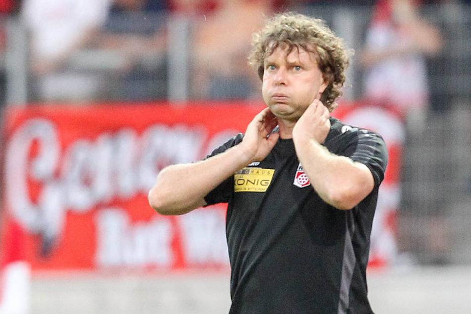 Stefan Krämer steht mit seinem Team vor einer schweren Saison.
