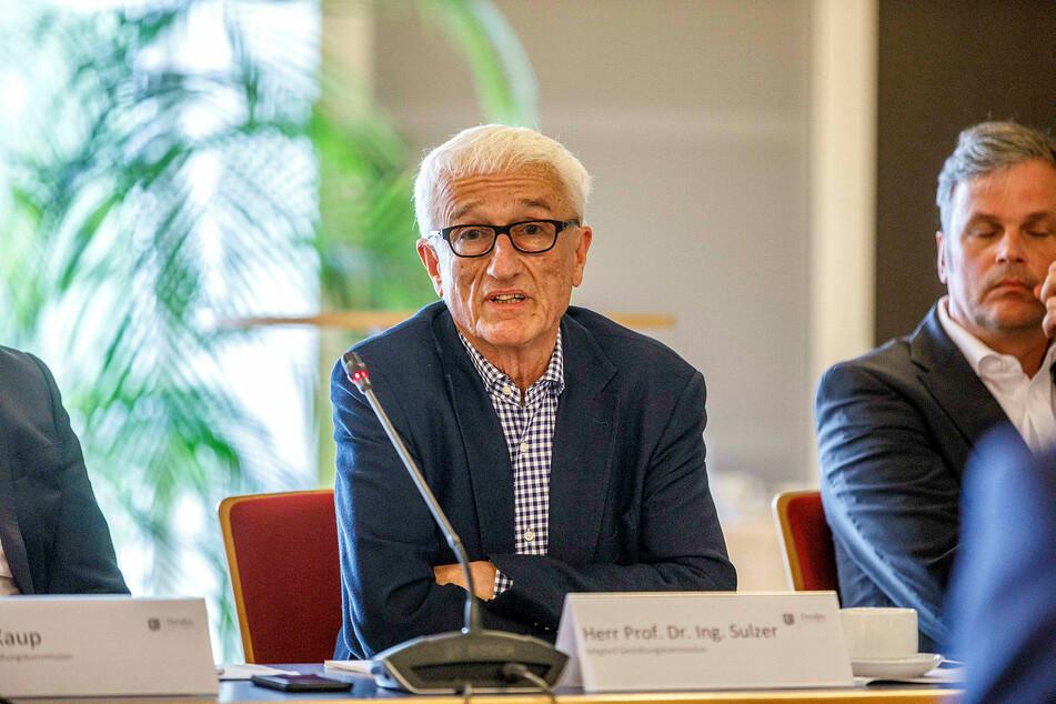 Städtebauprofessor Jürg Sulzer (75) ist der Chef der Dresdner Gestaltungskommission.