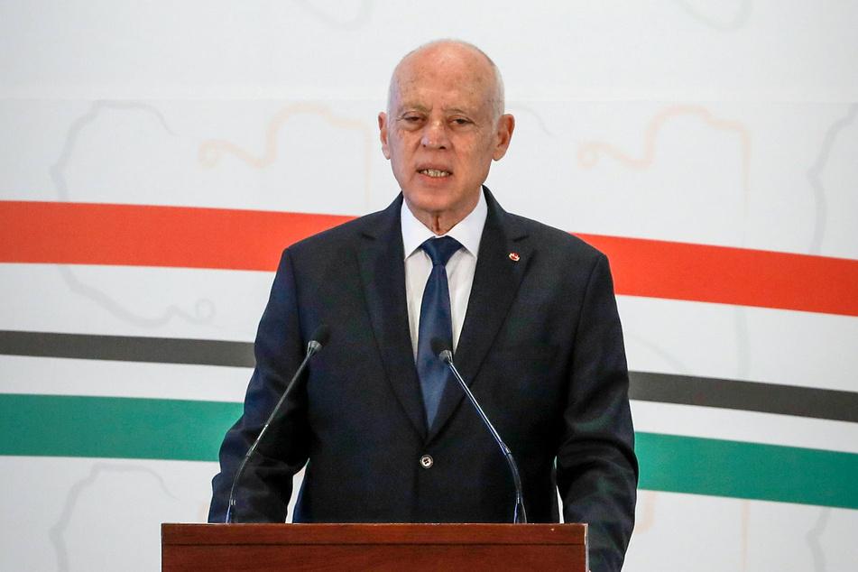 Tunesiens Präsident Kais Saied (63) zog überraschend mehr Macht an sich. (Archivbild)