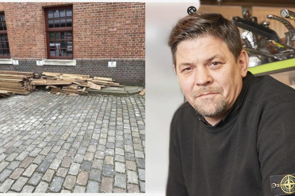 Über eBay zum Verkauf angeboten: Dreister Dieb verscherbelt Tim Mälzers Terrassen-Holz