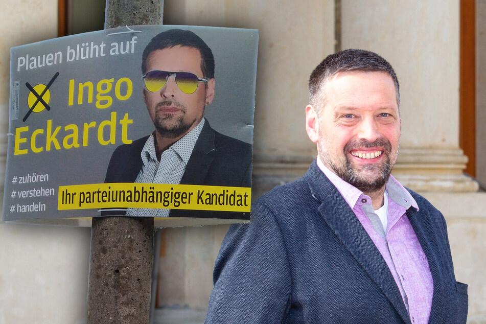 Plauener OB-Kandidat lockt mit Gewinnspiel: Darf er das?