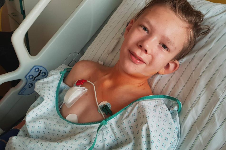 Dresden: Leon (14) hat zum dritten Mal Krebs: Nun hat er einen speziellen Wunsch
