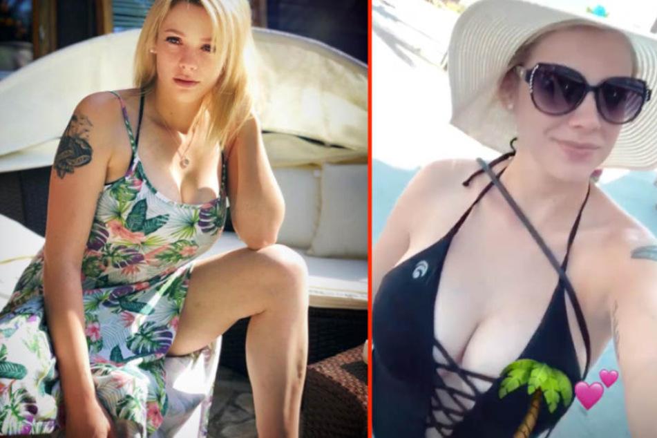 Nach ihrer Busen-OP im Jahr zeigt sich Anne Wünsche (26) gerne in sexy Posen.