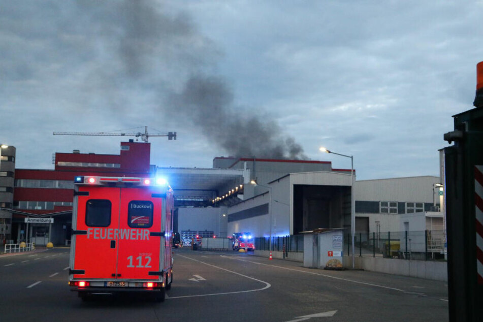 Brand auf Recyclinghof: 6000 Tonnen Müll in Flammen