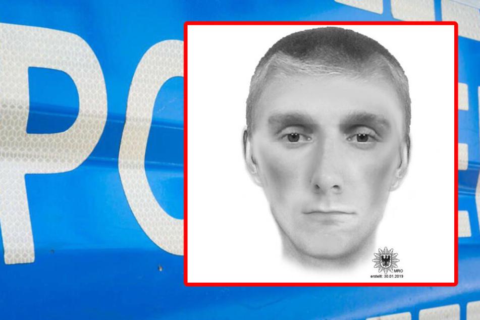 Möchtegern-Räuber blutige Nase verpasst: Wer hat diesen Mann gesehen?