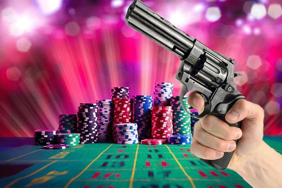 Die Pistole des Verdächtigen entpuppte sich als verblüffend echt wirkendes Spielzeug (Symbolbild).