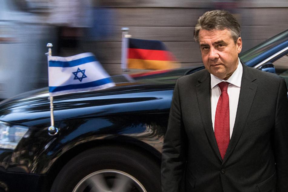 Geplatzt: Der deutsche und der israelische Außenminister werden sich nicht treffen.
