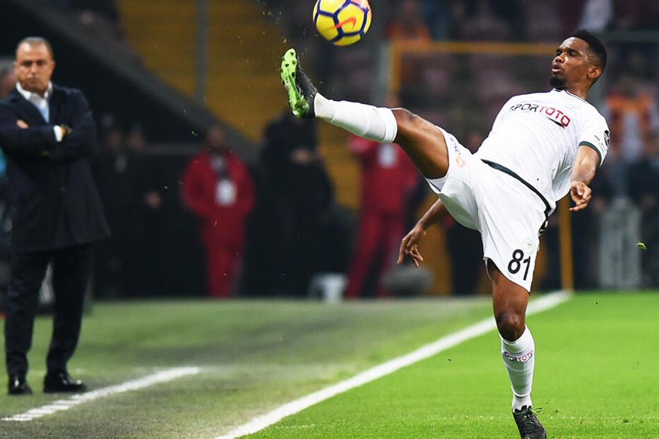 Samuel Eto'o ließ seine Karriere unter anderem bei Konyaspor ausklingen.