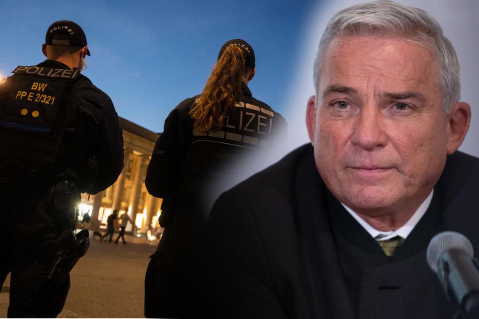 Angriffe auf Polizisten: Innenminister fordert härtere Strafen