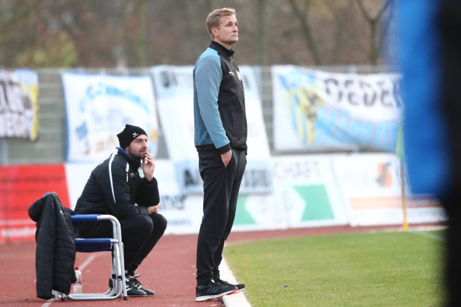 CFC-Trainer David Bergner kann seiner Mannschaft trotz Niederlage keinen Vorwurf machen.