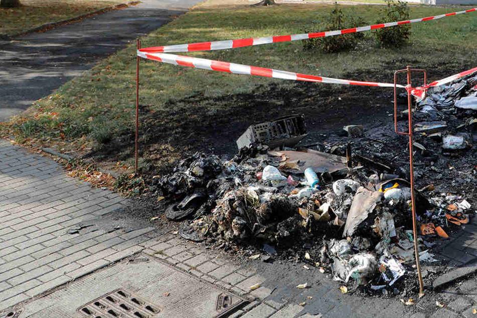 Feuer in mehreren Stadtteilen: Geht hier ein Brandstifter um?