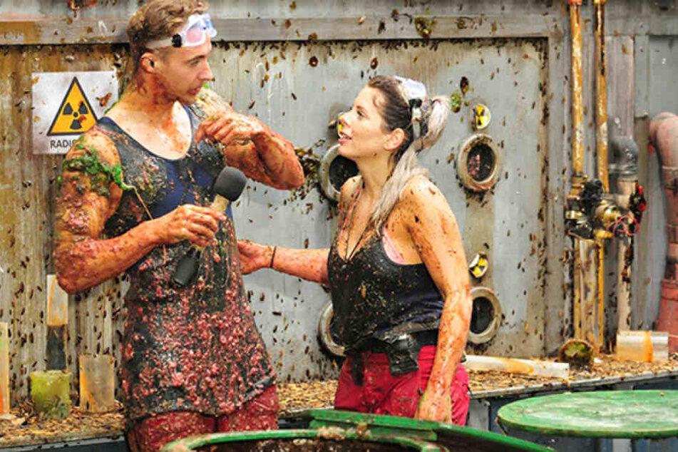 Für David und Jenny ging es am Freitag in die Dschungelprüfung.