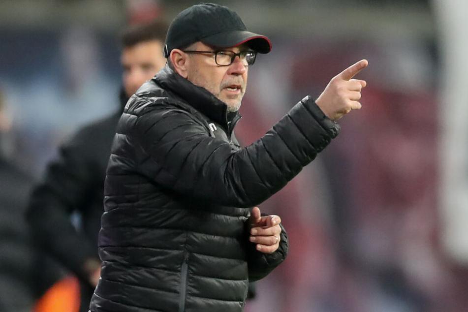 Urs Fischer konnte die Niederlage bei RB Leipzig nicht verhindern.