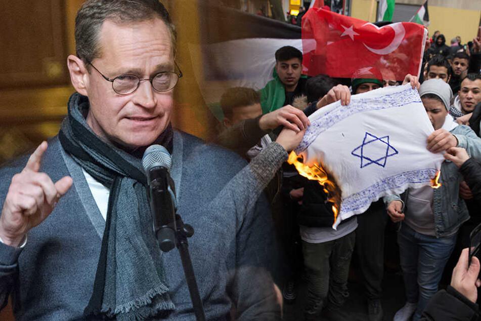 Michael Müller warnt vor einer neuen Form des Antisemitismus.