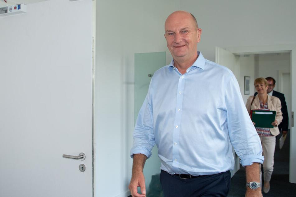 Dietmar Woidke ist Spitzenkandidat der SPD und kämpft um seinen Ministerpräsidenten-Posten.