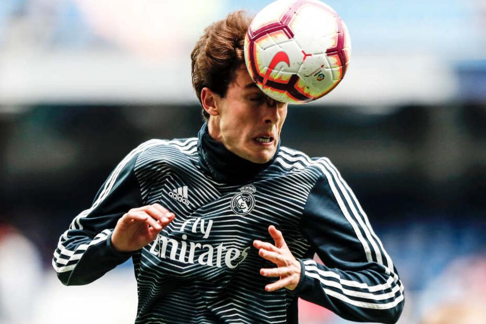 Alvaro Odriozola konnte sich bei Real Madrid noch nicht durchsetzen.