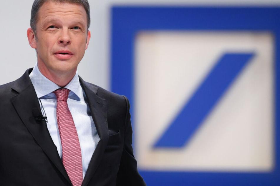 Das Bild zeigt den Deutsche Bank-Chef Christian Sewing im Mai 2018.