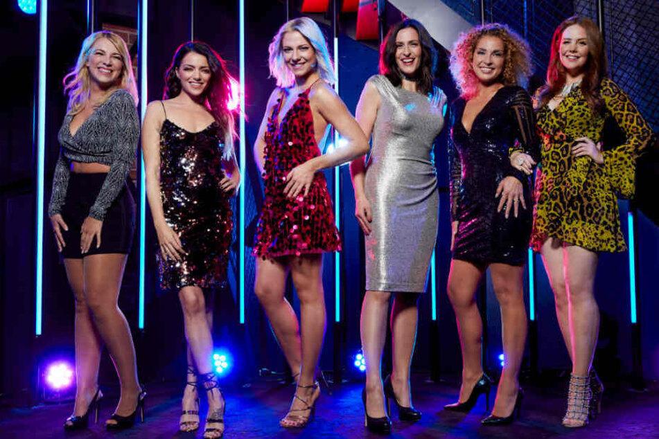 Die GZSZ-Stars Iris Mareike Steen, Anne Menden, Valentina Pahde, Ulrike Frank, Maria Wedig und Olivia Marei.
